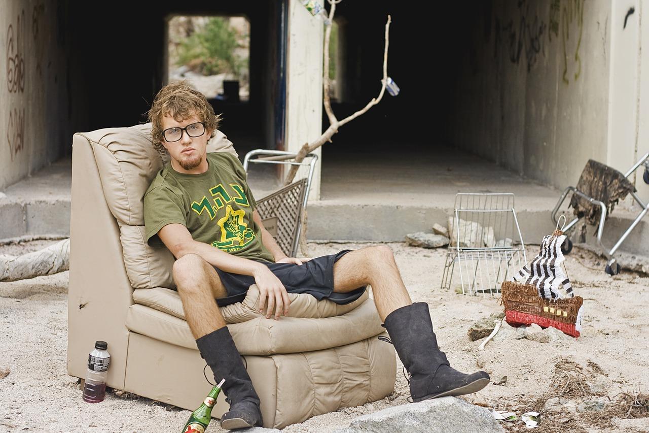 失業者の画像